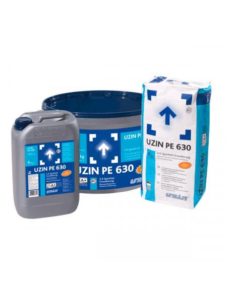 Двухкомпонентная шпаклевочная грунтовка UZIN PE 630 16 кг.