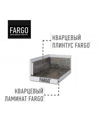 Кварцевый плинтус Fargo 379-1 Дуб Серый Иней