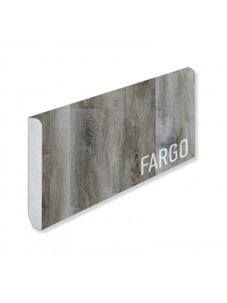 Кварцевый плинтус Fargo 366-1B Дуб Рустик Серый
