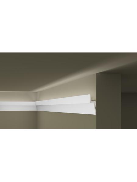 IL8 карниз для скрытого освещения ARSTYL NMC 150х50х2000 мм