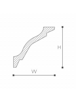 WT26 карниз Wallstyl NMC 75х75х2000 мм