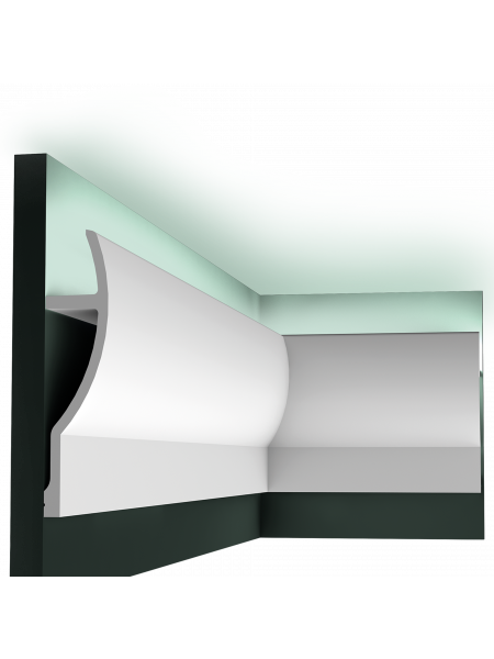 Карниз для скрытой подсветки Orac Decor C372 FLUXUS
