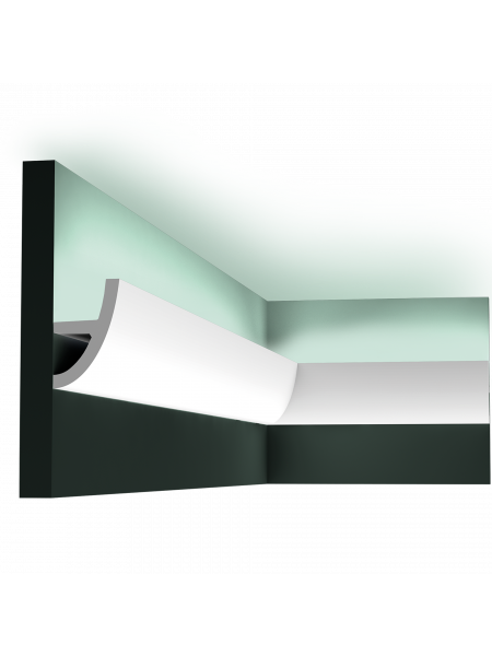 Карниз для скрытой подсветки Orac Decor C373F ANTONIO гибкий