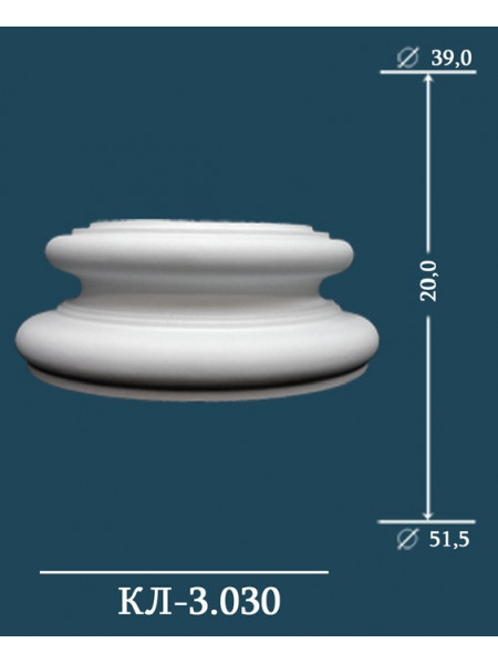 База декоративной колонны Perfect (Перфект) КЛ3.030