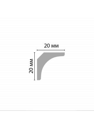 Плинтус потолочный DECOMASTER D133ДМ (20*20*2000мм)