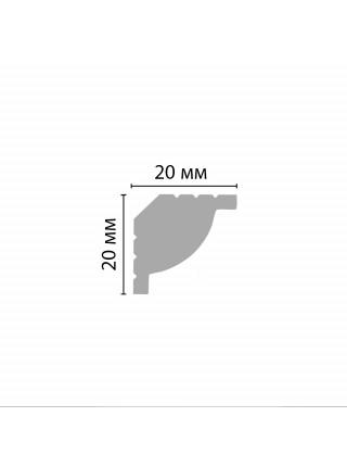 Плинтус потолочный DECOMASTER D132ДМ (20*20*2000мм)