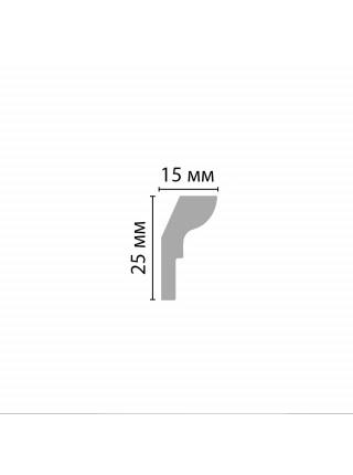 Плинтус потолочный DECOMASTER D111ДМ (25*15*2000мм)