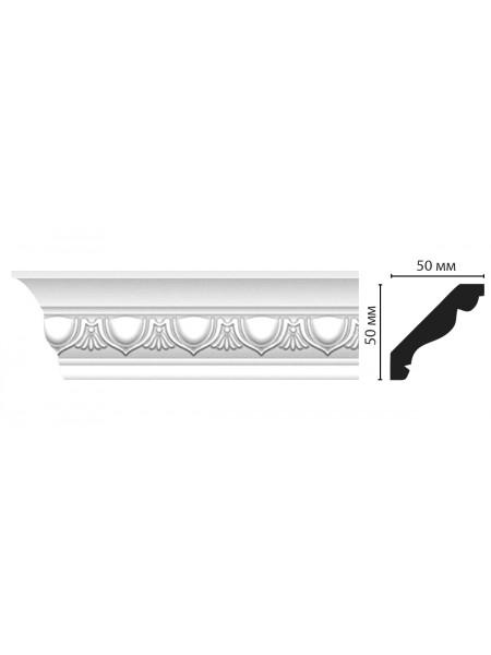 Плинтус потолочный DECOMASTER D155A (50*50*2000мм)
