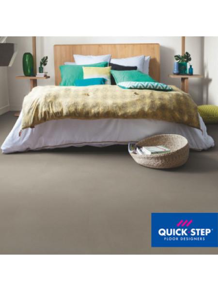 ПВХ-плитка Quick-Step Ambient Click AMCL 40141 Шлифованный бетон темно-серый