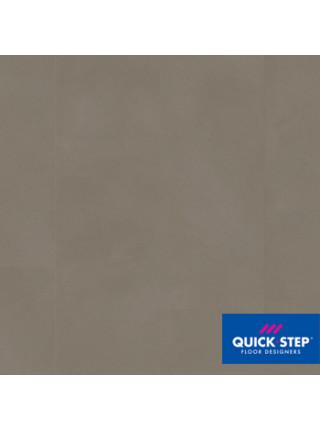 ПВХ-плитка Quick-Step Ambient Glue Plus AMGP 40141 Шлифованный бетон темно-серый